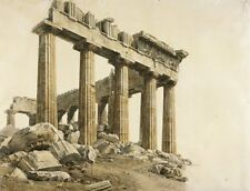 Photo Print Reproduction South East Corner Of Parthenon Athens Giovanni Ba