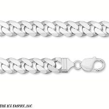 2.5mm CURB or Cuban Link Sterling Silver NECK CHAIN 16 18 20 22 24 30 in