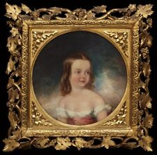 Helen Mary Dickinson Aged Two Years Marshall Claxton VHQ Art Repro. A4,3,2,1,0