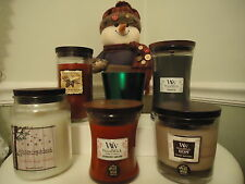 Holiday Woodwick, Nature's Wick, Whispering Woods Candles ~ Prices Vary