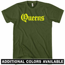 QUEENS T-shirt - Gothic - New York City NYC 718 Mets - NEW XS-4XL