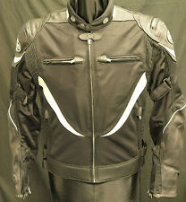 BATES LEATHERS MESH/LEATHER MOTORCYCLE JACKET