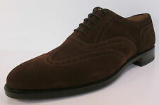Mens Loake 202Ds Brown suede lace up formal shoes