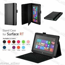 "Folding STAND LEATHER CASE COVER HOLDER FOR Microsoft Surface RT 10.6"" Tablet"