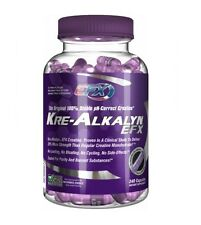 ALL AMERICAN KRE ALKALYN 120/240 CAPS - CREATINE CAPSULES - NO LOADING / CYCLING