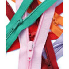 12 inch/ 30cm Light Weight YKK Open End Zip - 20 Colours to choose from