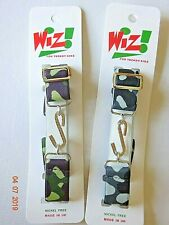 Kids Boy Girl Brown,Grey Camouflage Army Elasticated Stretchy Snake Belt Childs