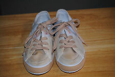 Women's Nine West White & Peach Fashion Athletic Sneakers - MSRP $59