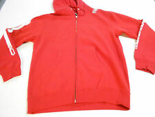 NEW MENS ROGUE STATUS DEAT TO RS RED ZIP-UP PULLOVER SWEATER SKULLS BOMBS FLAG