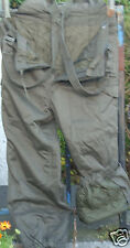 GENUINE EX AUSTRIAN ARMY ISSUE QUILT PADDED OVERTROUSERS ONE OF EA SIZE ONLY!!