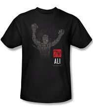 Muhammad Ali Boxing Arms Raised Quotes 70 Years Licensed Tee Shirt Adult S-3XL