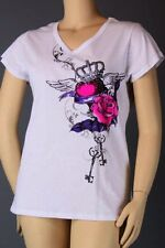 Sexy & Sinful Heart Roses Tee  Crystals PLUS 1X 2X