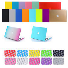 "2in1 Rubberized Laptop Matt Hard Case+Keyboard Cover for MacBook Pro 15"" A1286"