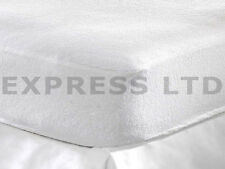 NEW TERRY TOWEL FITTED WATERPROOF MATTRESS SHEET LUXURY COVER PROTECTOR