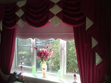 Scallop Roller Blinds - Made to Measure - All Sizes and All Fabrics - Hand-Made!