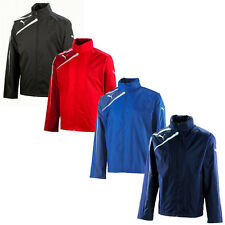 New Puma Spirit Mens Training Football Rain Jacket Full Zip
