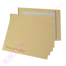 A6 C6 RIGID BOARD BACKED BROWN DO NOT BEND ENVELOPES CHEAP OFFER *SELECT QTY*