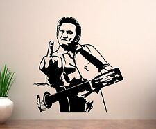 Wandtattoo Johnny Cash, Sänger USA Aufkleber Blues Country Star Wandbild 1T117_1
