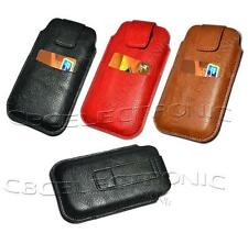 New Soft leather Belt Case Pouch Sleeve for Samsung Galaxy S3 i9300 i9250 Nexus
