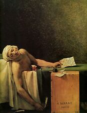 Photo/Poster - Marat Assassin Assassinated Marat - Jacques Louis David 1748 1825