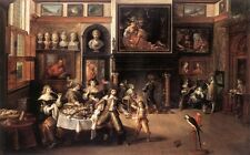 Photo/Poster - Supper At The House Of Burgomaster Rockox - Frans The Younger Fra