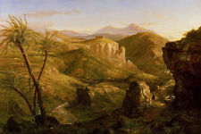 Photo/Poster - The Vale And Temple Of Segesta Sicily - Thomas Cole 1801 1848