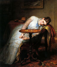 Art Print - Cope Charles West Hope Deferred And Hopes And Fears That Kindle Hope