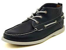 Mens Timberland Earthkeepers Heritage Boat Chukka Shoe Blue Smooth Leather 6365R