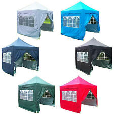 8' x 8' Waterproof EZ Pop Up Canopy Party Tent Gazebo 7 Colors Available