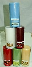 """1-Pillar Candles 3"""" x 6"""" Scented~Long Burn Time~6-Different Scents~You Choose~"""