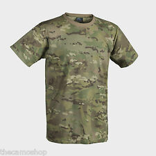 Helikon mens tactical combat military style multicam army t-shirt 100% cotton