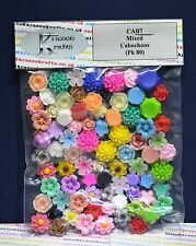 Resin Cabochons - 22  Packs to choose from - Ideal Cardmaking and for Jewellery