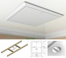 Insulated White Drop Down Hinged Loft Hatch Access Panel Door Multi Listing.