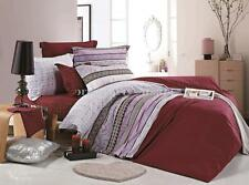 ROMA Queen/King Size Bed Duvet/Doona/Quilt Cover Set Pillowcase New 100% Cotton