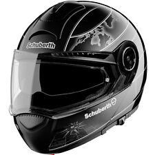 Schuberth C3 World Graphic Helmet BLACK 2013