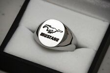 Custom Ford Mustang Signet Ring