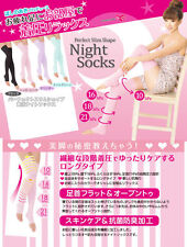 JAPAN HOSHINO AKI NIGHT SOCKS PERFECT SLIM SHAPE COMPRESSION/MOISTURIZER/SKIN