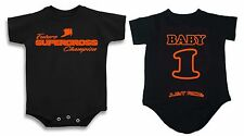 FUTURE SUPERCROSS CHAMPION T SHIRT ONE PIECE BABY INFANT MOTOCROSS YZF KTM CRF