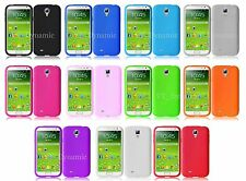 Samsung Galaxy S4 SIV Soft Silicone Cell Phone Skin Case Cover Accessory i9500