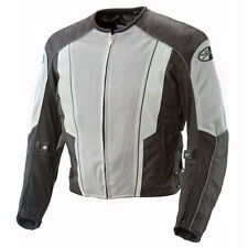 JOE ROCKET PHOENIX 5.0 MESH MOTORCYCLE RIDING JACKET GRAY BLACK WATERPROOF LINER