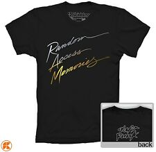 DAFT PUNK T-SHIRT RANDOM ACCESS MEMORIES INSPIRED COLOURS AND SIZES UNISEX
