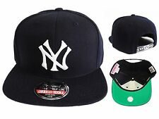 Navy blue Vintage  MLB new york Yankees snapback American needle NEW HATS CAP