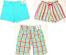 GYMBOREE Ice Cream Sweetie Blue Dot Plaid Stripe Shorts 3 4 6 8 12 NWT