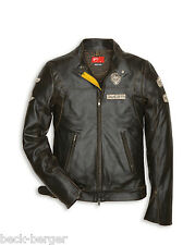 DUCATI HISTORICAL ´13 Lederjacke Jacke Leather Jacket Retro NEU 2013 !!