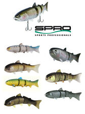 "SPRO BBZ-1 SWIMBAIT 8"" FLOATING select colors"