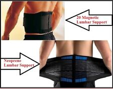 Neoprene Lumbar Support Lower Back Belt Brace Pain Relief