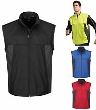 MEN'S WIND / WATER RESISTANT, LIGHTWEIGHT VENTED VEST, RUNNING, S-L XL 2X 3X 4X