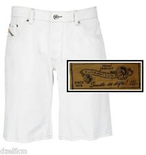 NWT Diesel Men's Contemporary Denim Short in White Size 32