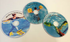 Hydro-Tone WORKOUT DVDs Upper Body Lower Step by Step Bells Boots WATER FITNESS