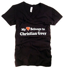 50 Fifty Shades of Grey T-Shirt Property of Christian Grey